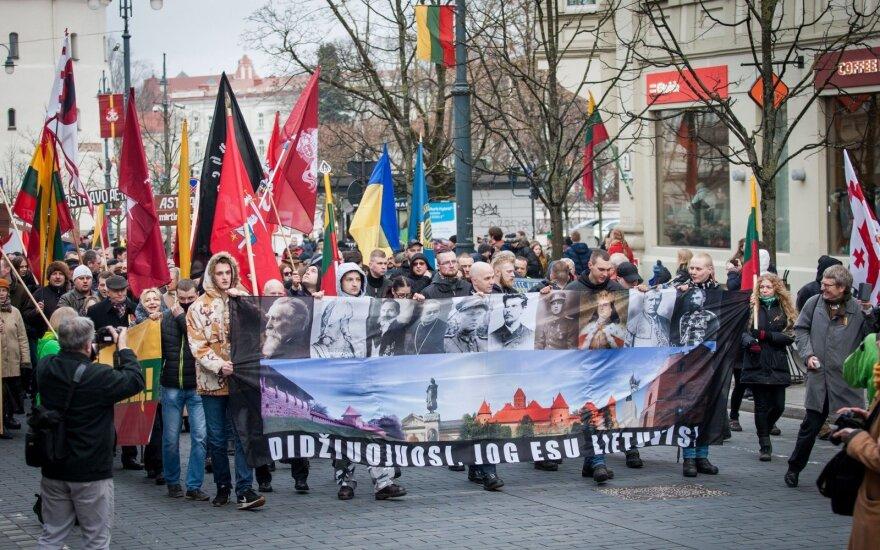Власти Вильнюса не одобрили шествие националистов 16-ого февраля