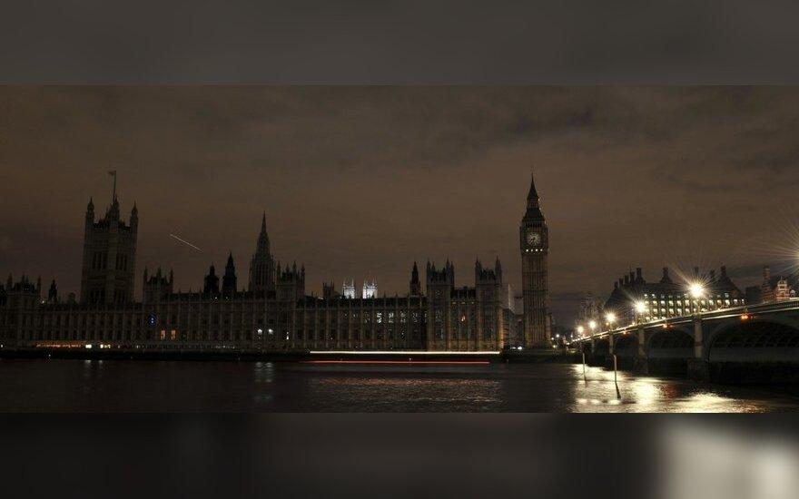 Parlamento rūmai ir Big Benas Londone