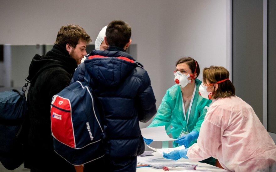 В понедельник в Литве установлено ещё 17 случаев заражения коронавирусом