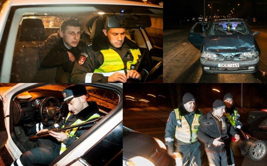 Рейд в Вильнюсе: угрозы бывшего пограничника и ружье в багажнике