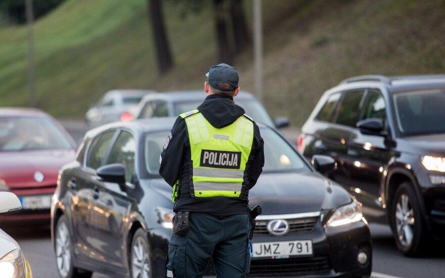 В Вильнюсе полиция за сутки выявила шесть нетрезвых водителей