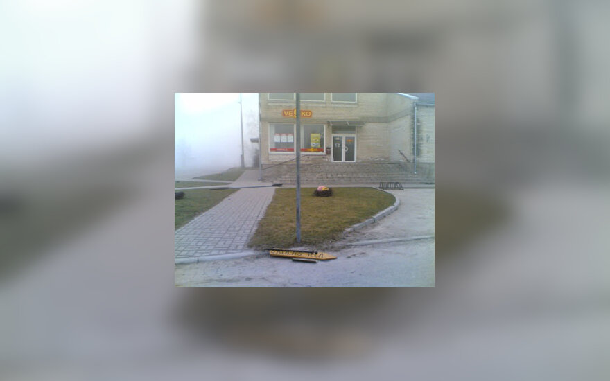Vandalai iš Lietuvos nusiaubė Latvijos pasienį