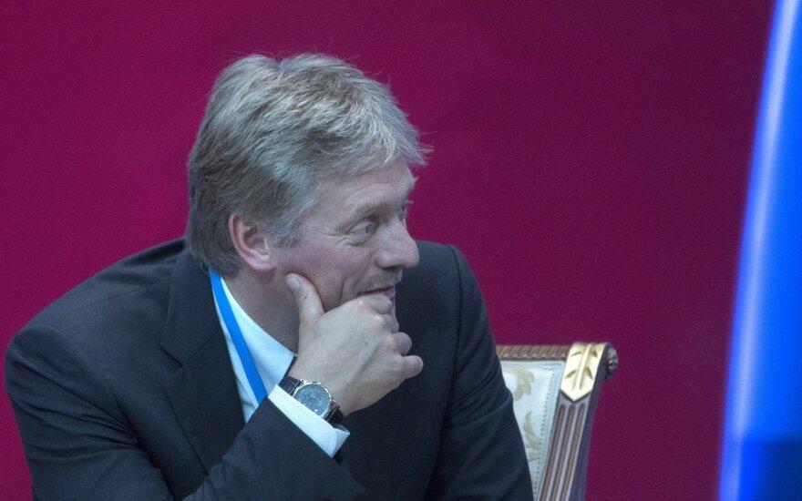 Кремль заявил об отсутствии вопроса санкций в повестке дня