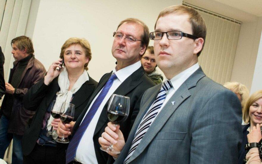 Loreta Graužinienė, Viktoras Uspaskichas ir Vytautas Gapšys