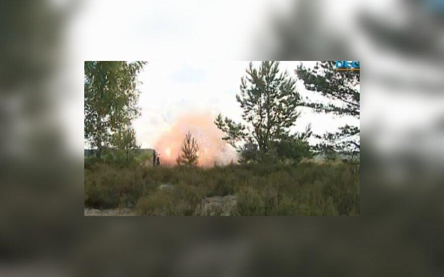 """Взрывной """"сюрприз"""" для эстонцев на учениях Amber hope 2011"""