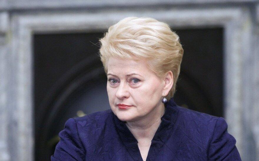 Grybauskaitė: Gazprom nie chce negocjować. Ich żądania są nierealne