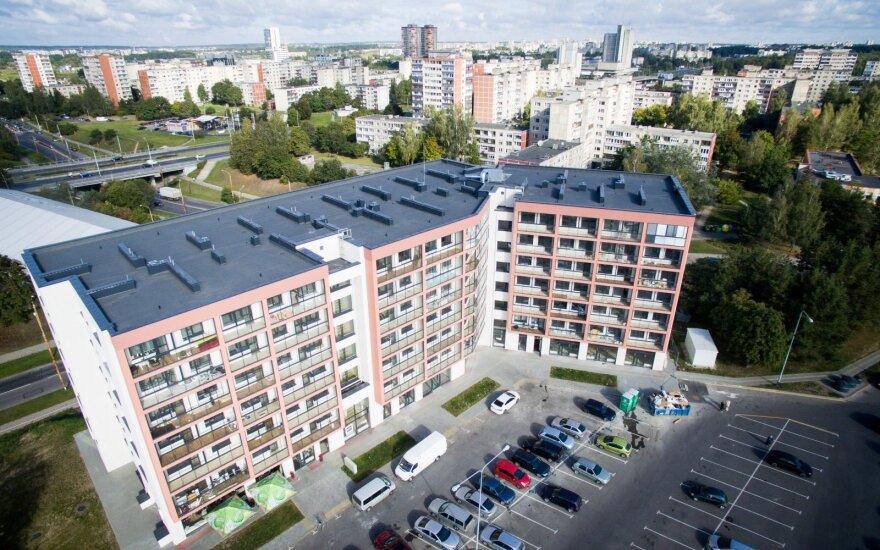 В Вильнюсе могут снести построенный многоквартирный дом