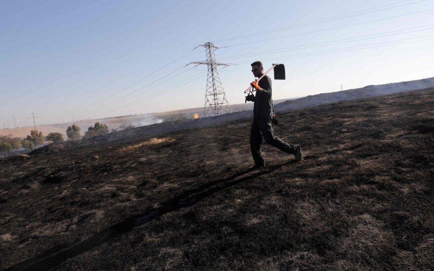 """Армия Израиля атакует позиции ХАМАСа и """"Исламского джихада"""" в секторе Газы"""