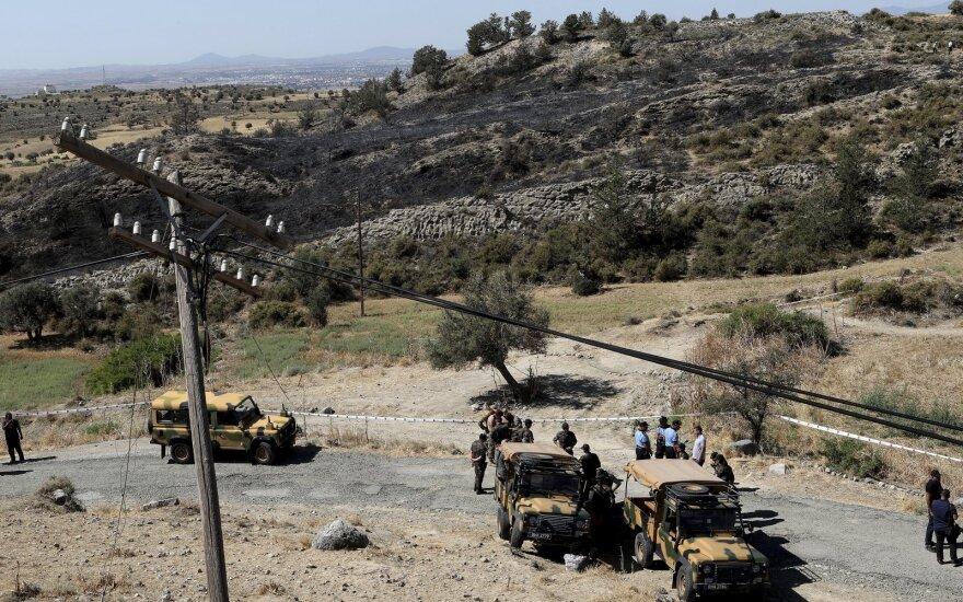 Власти Северного Кипра сообщили о падении ракеты из Сирии