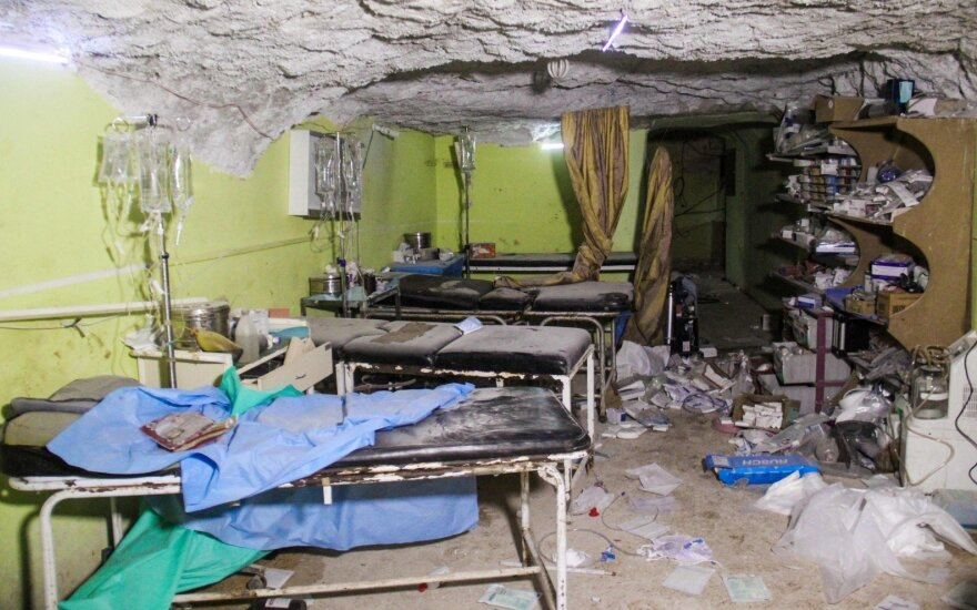 Кремль прокомментировал возможное применение химоружия при атаке в Идлибе