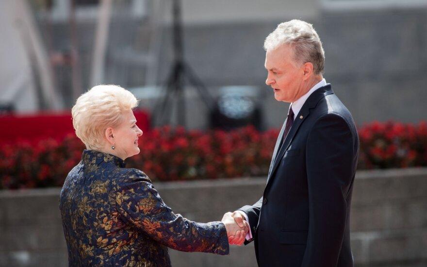 Dalia Grybauskaitė ir Gitanas Nausėda