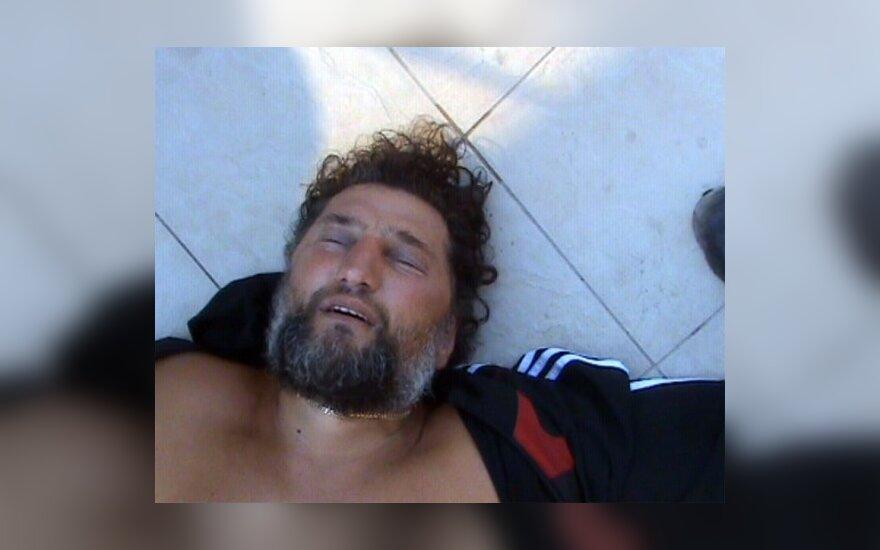 Bulgarijoje sulaikytas Henrikas Daktaras (Bulgarijos policijos nuotr.)