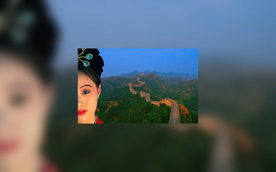 Kinė moteris, Didžioji Kinijos siena