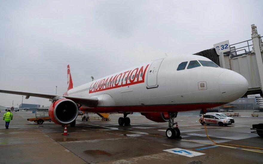 Самолеты Laudamotion будут летать из Вильнюса в Вену