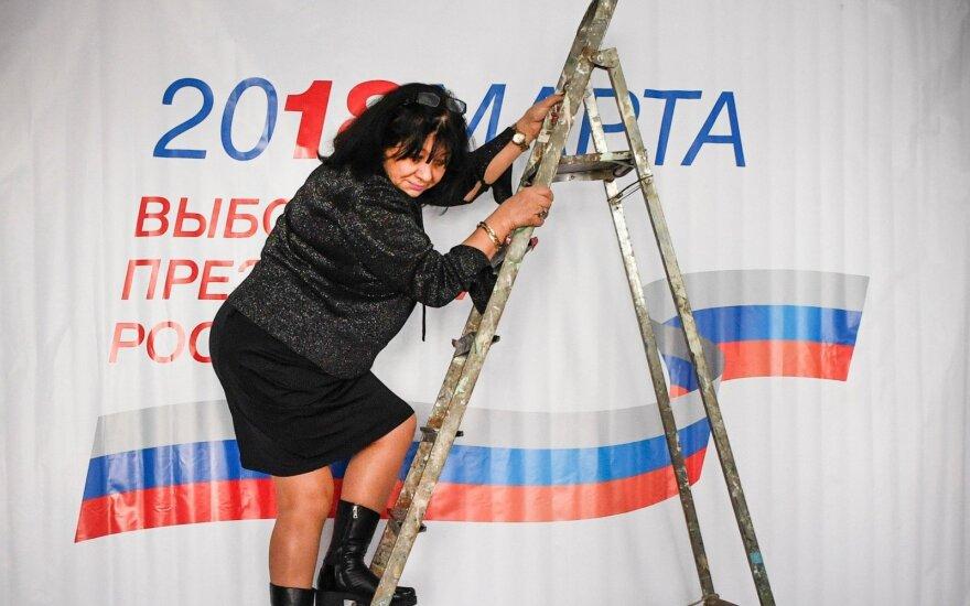 Выборы президента России закончились