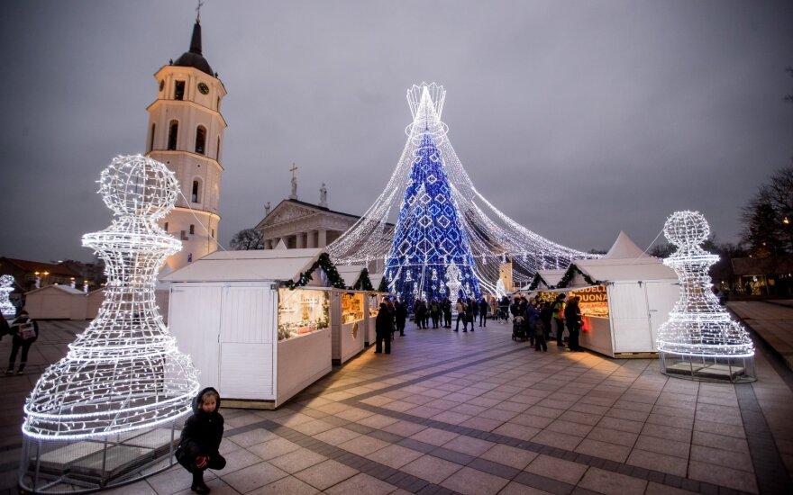 Праздники в Литве были впечатляющими: есть чем поделиться и полиции и врачам