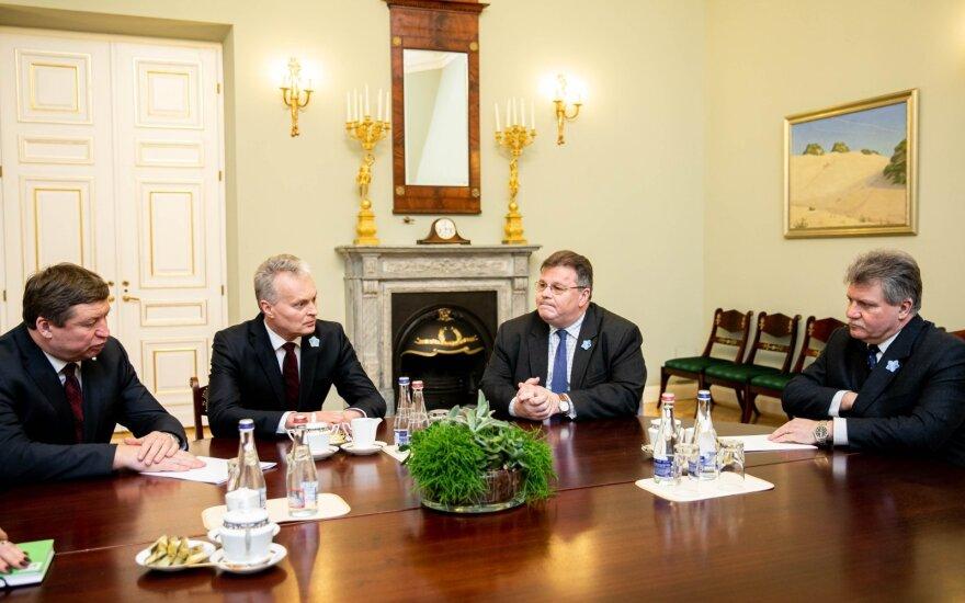 Raimundas Karoblis, Gitanas Nausėda, Linas Antanas Linkevičius, Jonas Vytautas Žukas