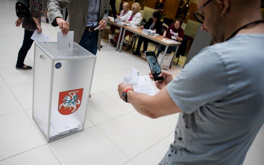 В Литве продолжается досрочное голосование на выборах президента и в ЕП