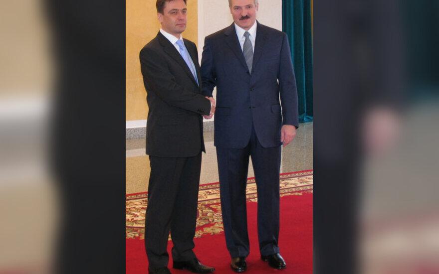E.Bagdonas ir A.Lukašenka