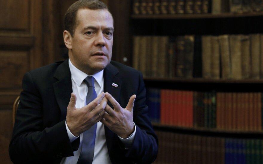 МИД Украины выразил протест из-за визита Медведева в оккупированный Крым