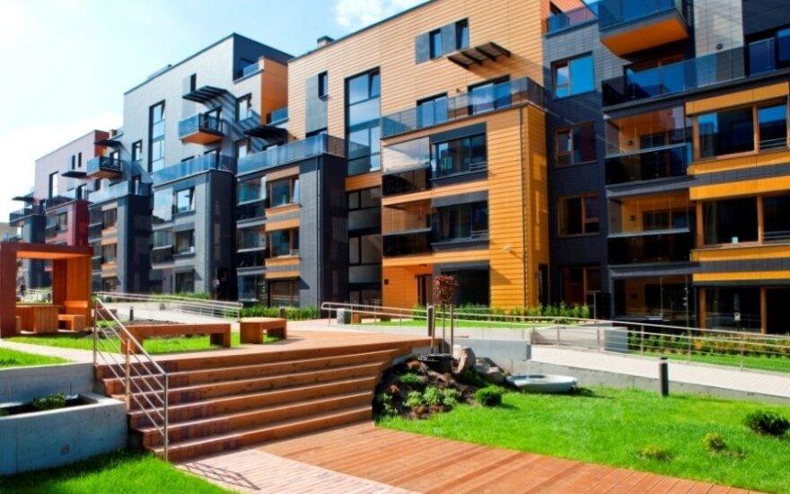 На рынке в Вильнюсе - 382 новые квартиры