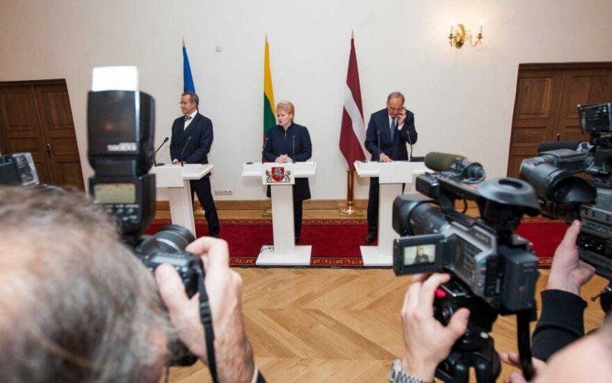 Toomas Hendrikas Ilvesas, Dalia Grybauskaitė ir Andris Bėrzinis