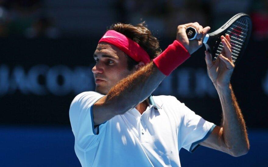 Историческое достижение Федерера и первая сенсация AusOpen