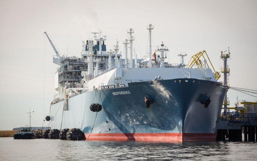 В Клайпеду прибудет второй малогабаритный газовоз с СПГ
