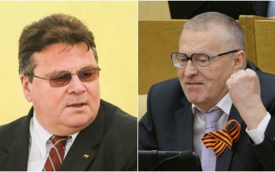 МИД Литвы призвал власти России осудить заявления Жириновского