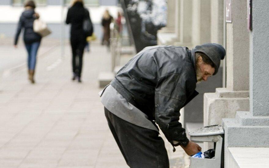 Каждый пятый житель Литвы находится ниже уровня бедности