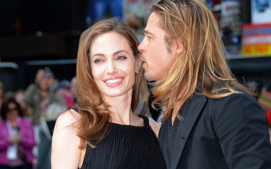 Angelina Jolie ir Bradas Pittas
