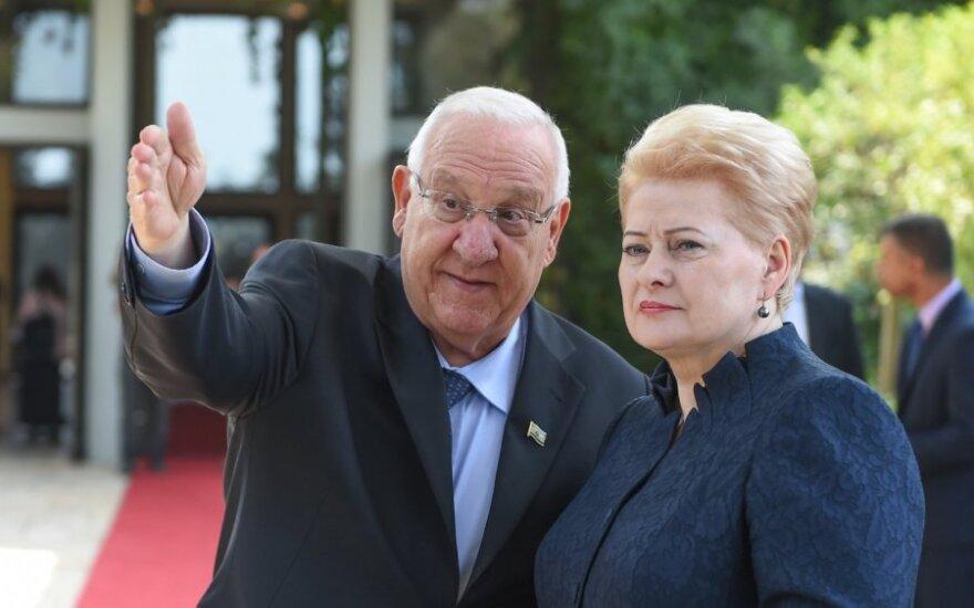 Dalia Grybauskaitė, Reuvenas Rivlinas