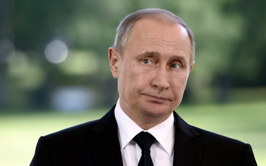Sumijos prezidentas Saulis Niinisto priėmė Vladimirą  Putiną