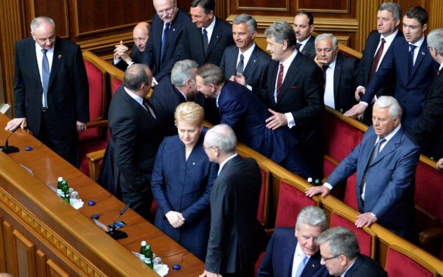 Президент Литвы: Порошенко ждет много дел