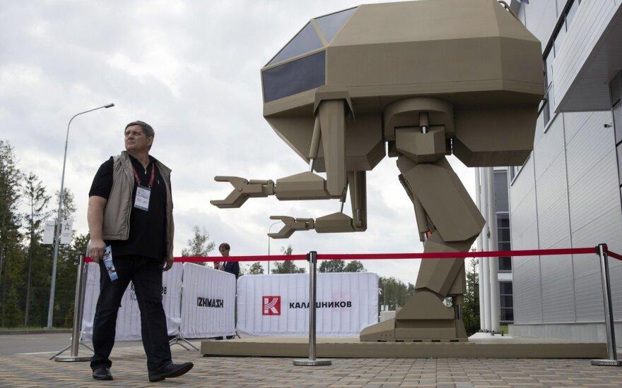 """""""Kalašnikov"""" dvikojis robotas padėtų statant laikinas konstrukcijas"""