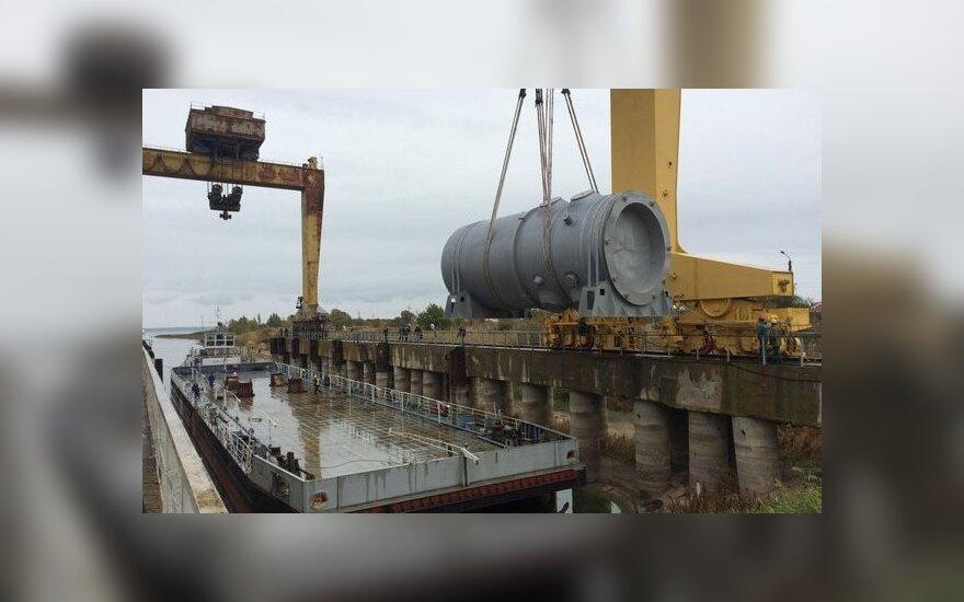 СМИ: новый корпус реактора для БелАЭС отгрузят в конце октября