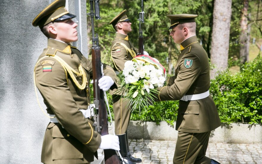 Президент Литвы почтил память жертв Второй мировой войны