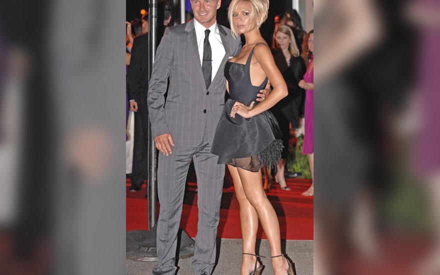 Davidas ir  Victoria Beckhamai
