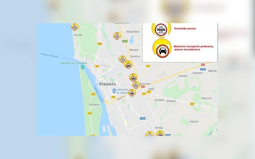 Литовское взморье на Пасху оцепит полиция: будут и мобильные посты