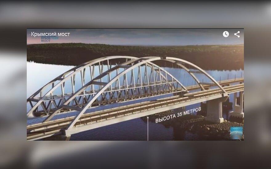 В соцсетях появился презентационный ролик моста в Крым