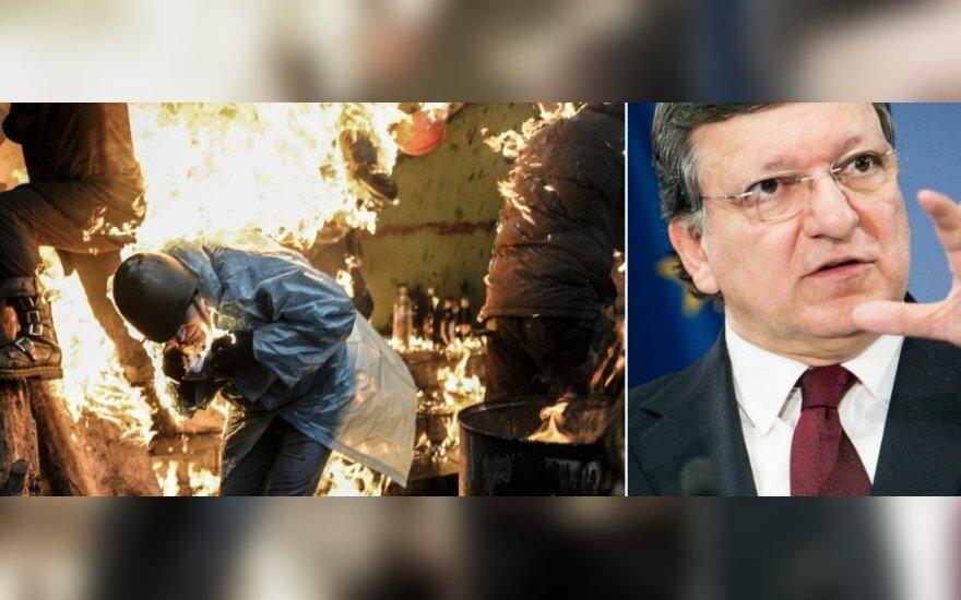 ЕС вводит санкции против виновных в бойне в Украине