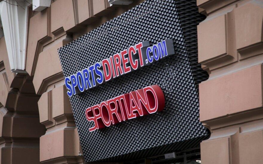 Прибыль Sportland LT в прошлом году возросла почти вдвое до 3 млн евро