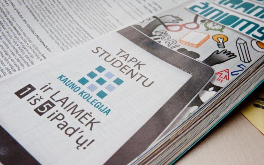 Литовских студентов заманивают полетами в Барселону и iPad'ами