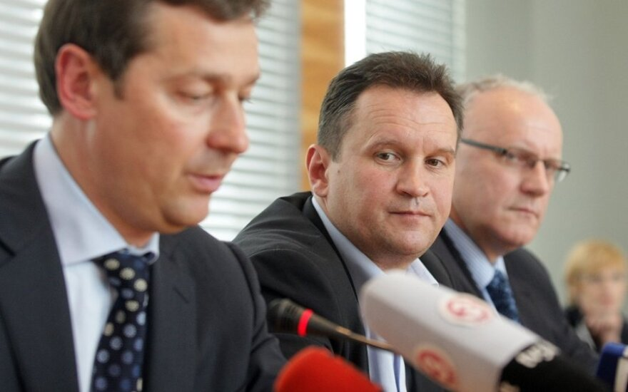 Artūras Zuokas, Jaroslavas Kaminskis, Jonas Pinskus