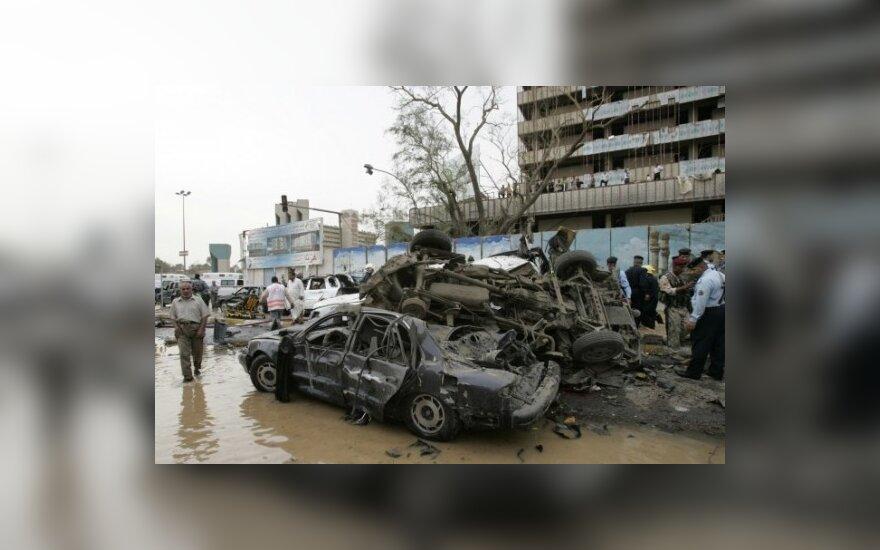 Взрыв в Багдаде: 5 погибших, 10 раненых