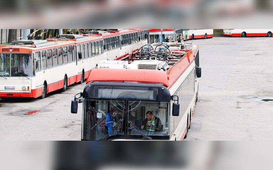 Старые вильнюсские троллейбусы отправят на Украину