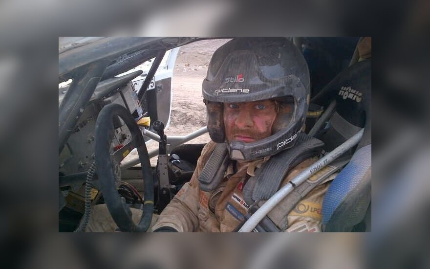 Vanagas: Nałykałem się piasku spod polskiego samochodu
