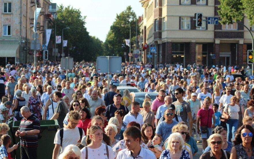 В Клайпеде начался Праздник моря: много мероприятий и бесплатный общественный транспорт