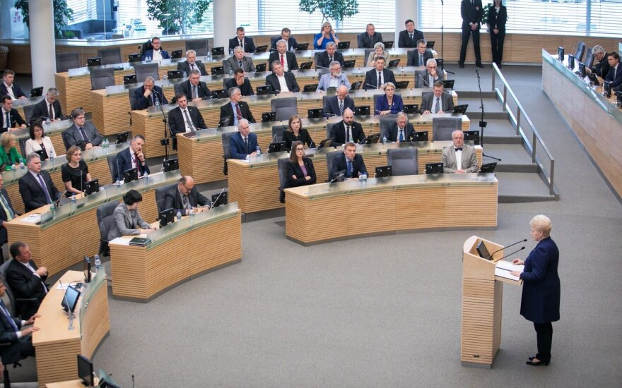 В парламенте Литвы не будут расследовать переписку президента