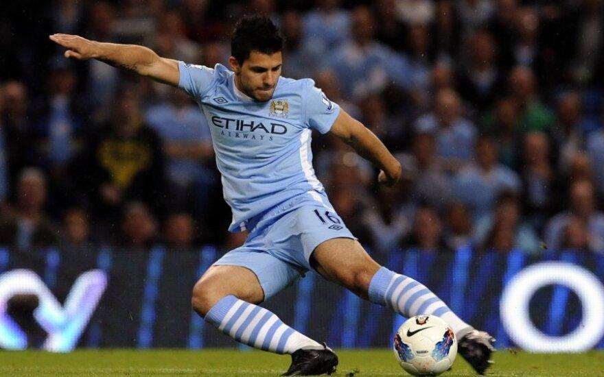 """Sergio Aguero (""""Manchester City"""")"""